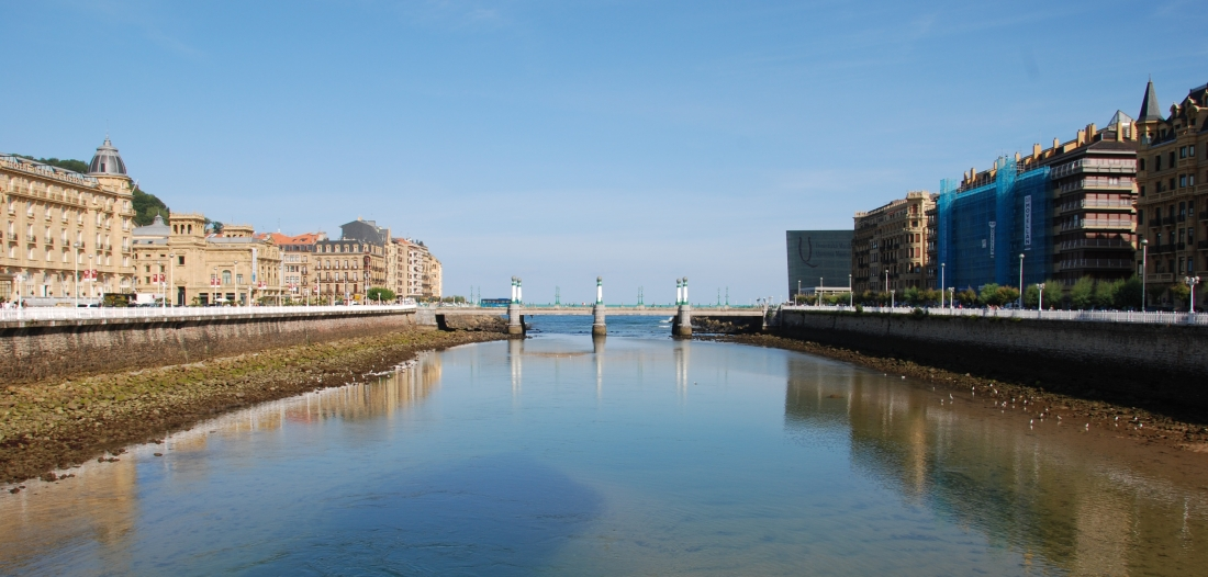Puente del kursal, Donostia, San Sebastián,
